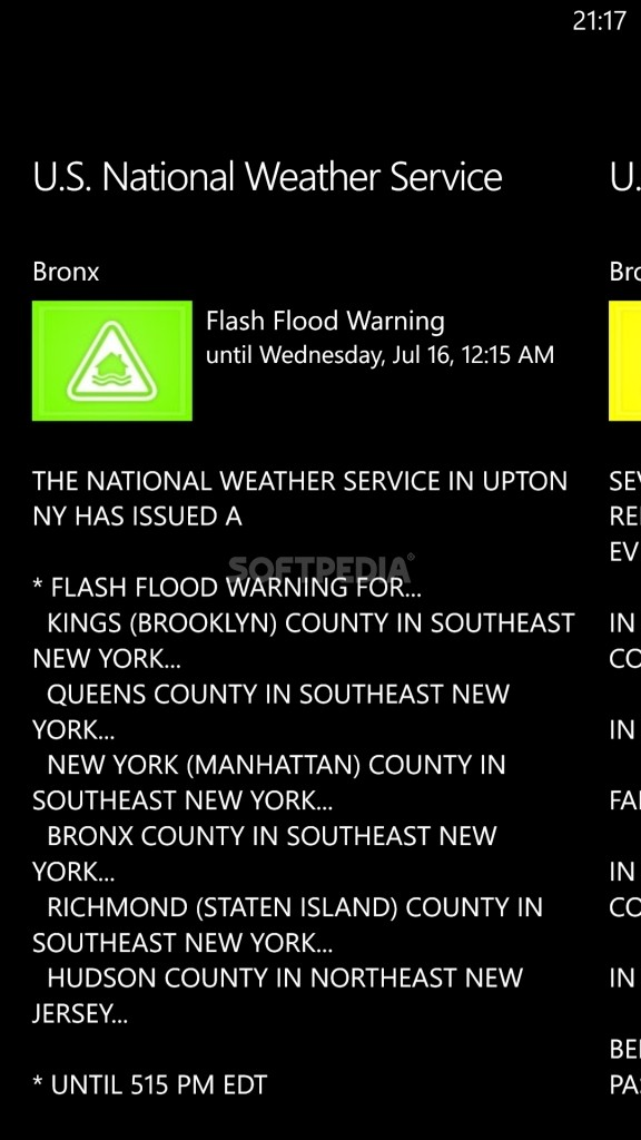 Download AccuWeather For Windows Phone - Accuweather brooklyn