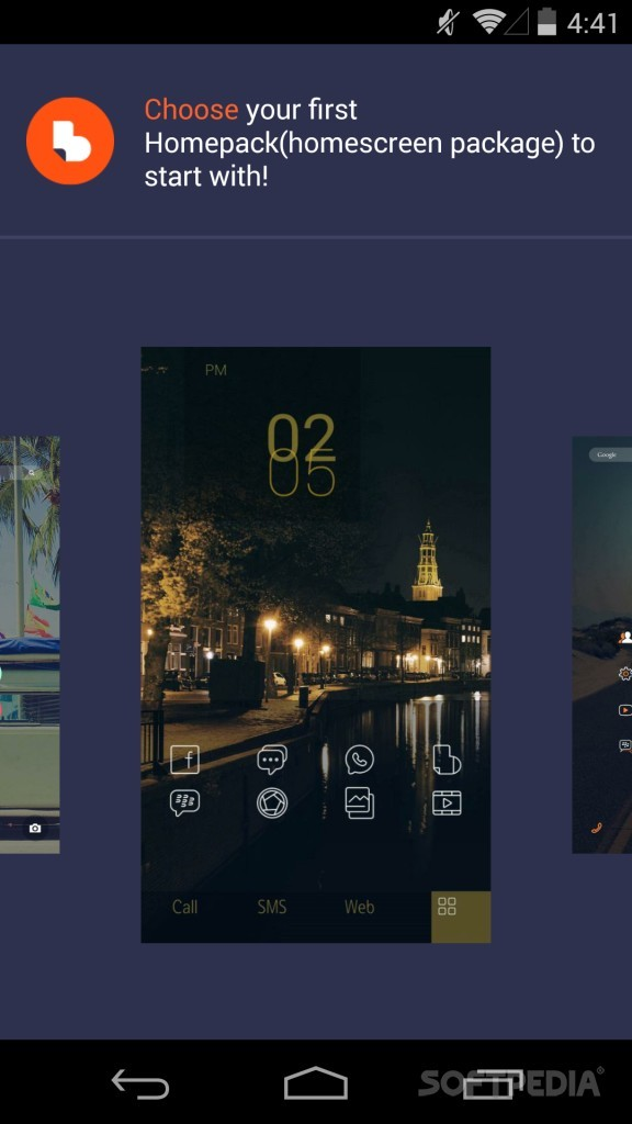 Download Buzz Launcher for Android