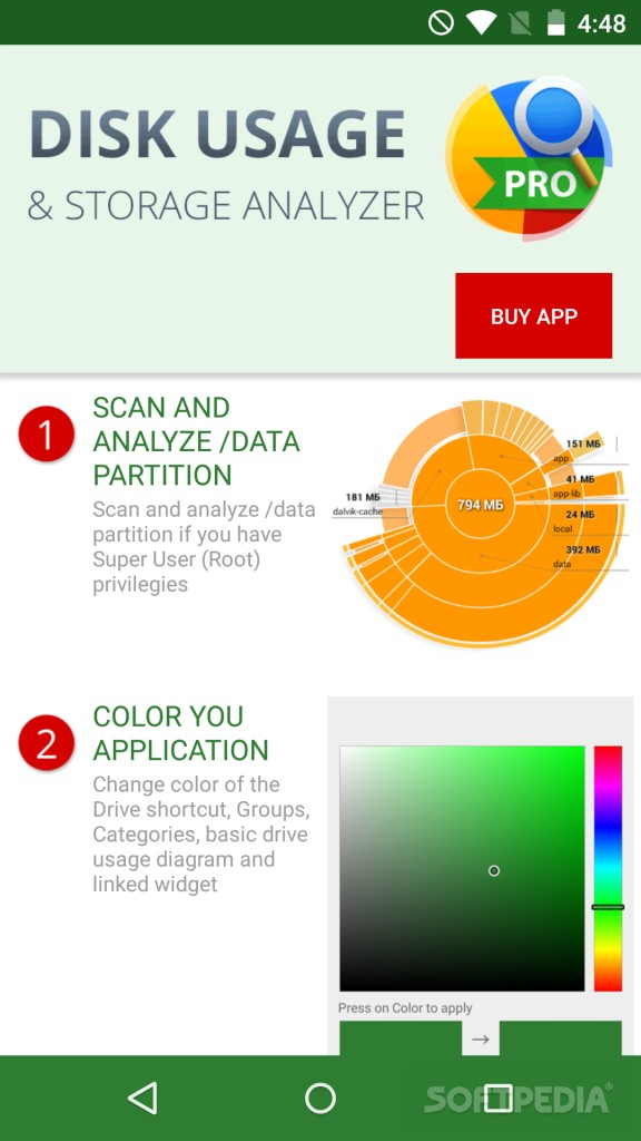 android storage analyzer