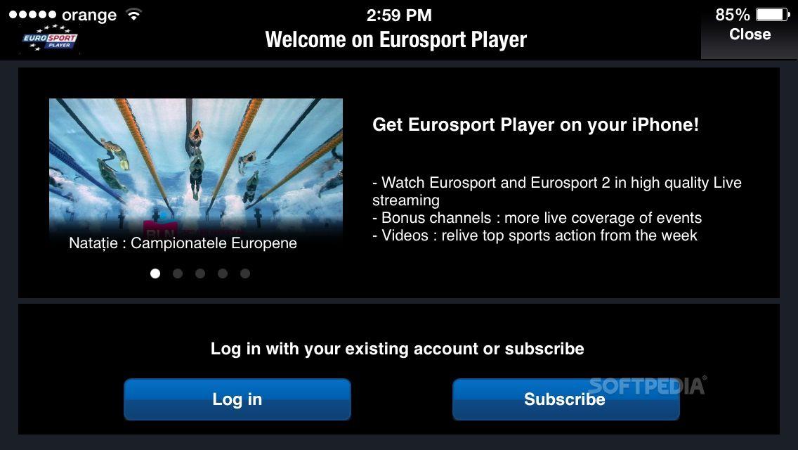 eurosport player eurosport player screenshot