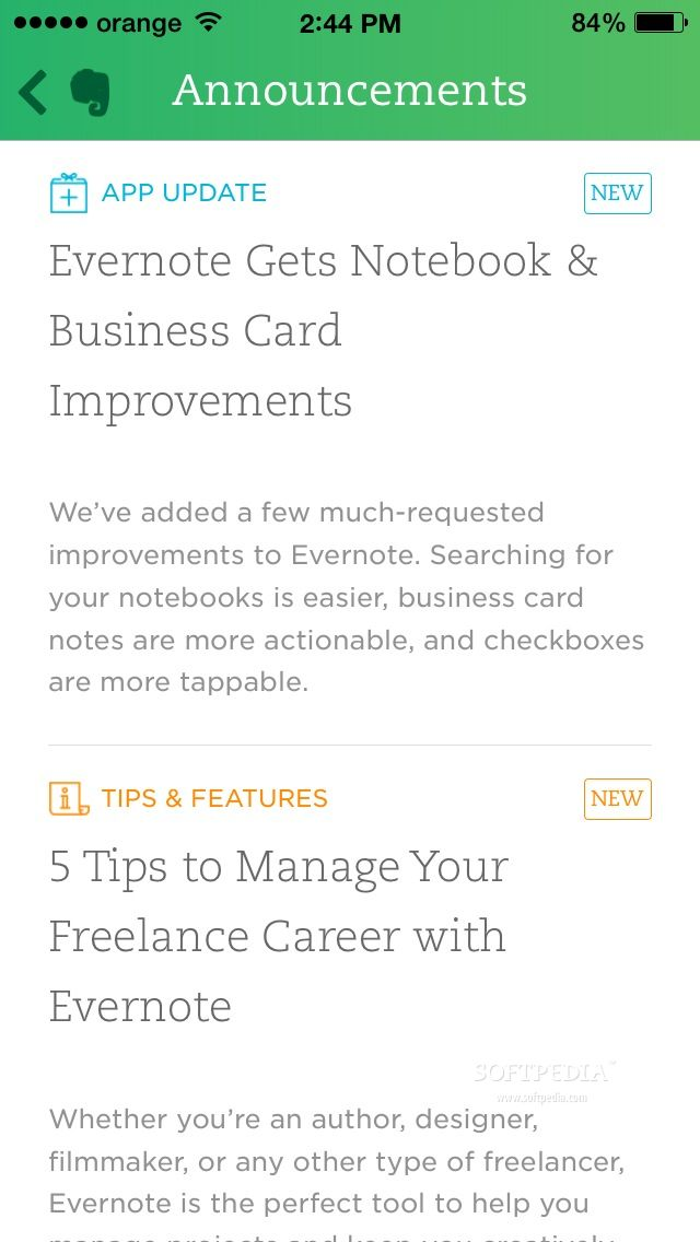 Download Evernote for iOS