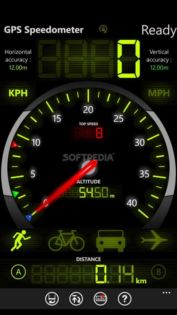 Download FREE GPS Speedometer for Windows Phone