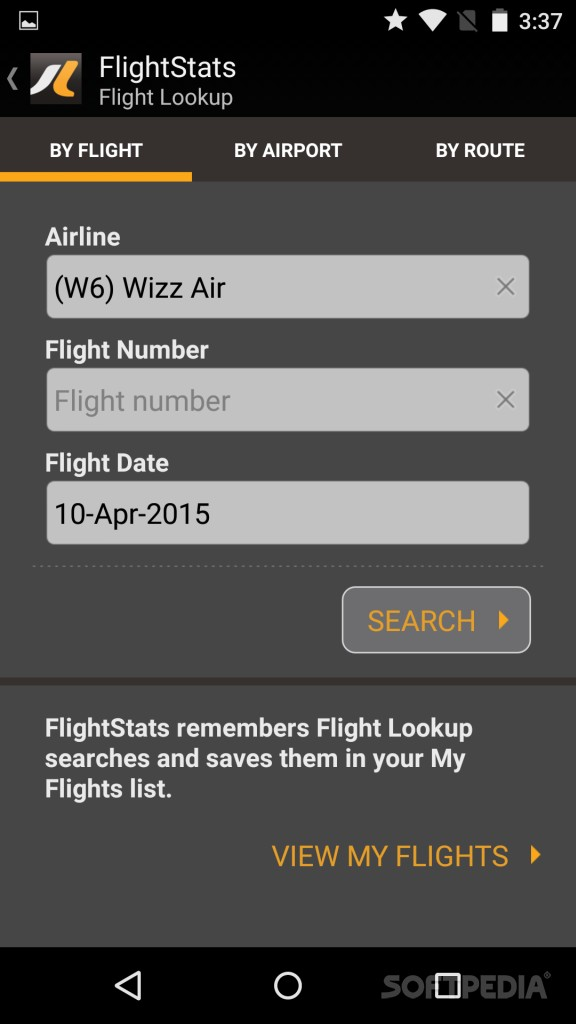 flight lookup by flight number