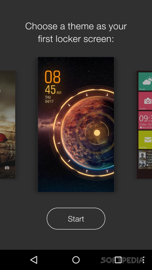 GO Locker VIP 6.06 اپلیکیشن تغییر صفحه قفل گوشی اندروید