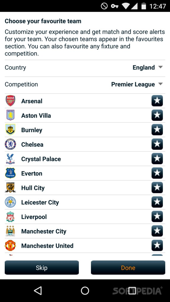 Download Goal Live Scores for Android
