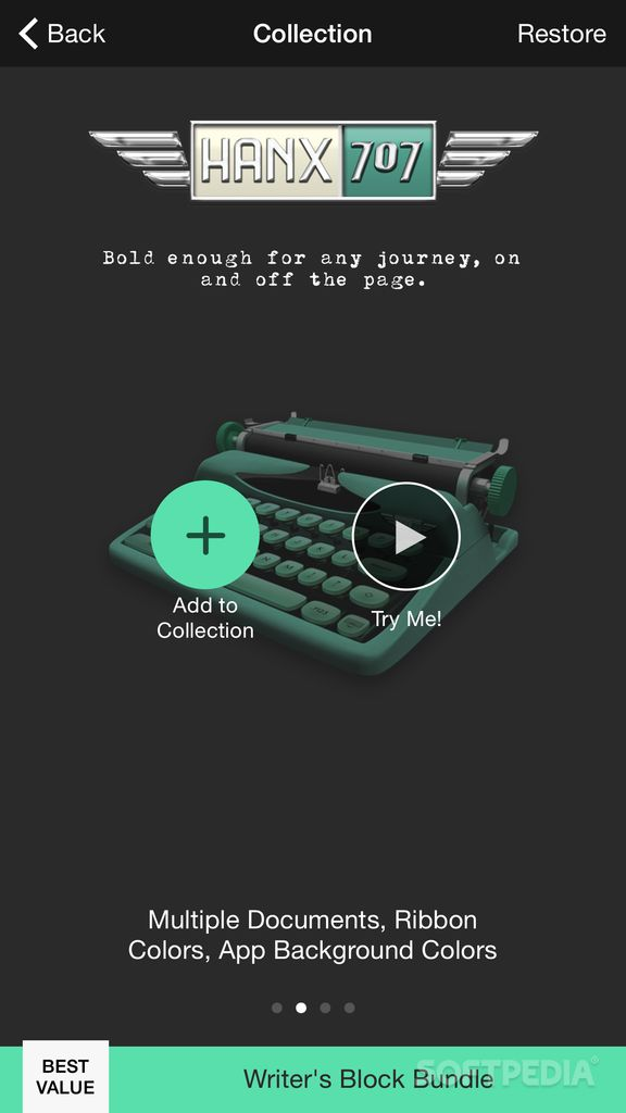 Download Hanx Writer for iOS