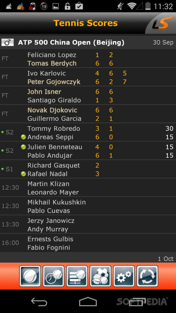 download livescore for android