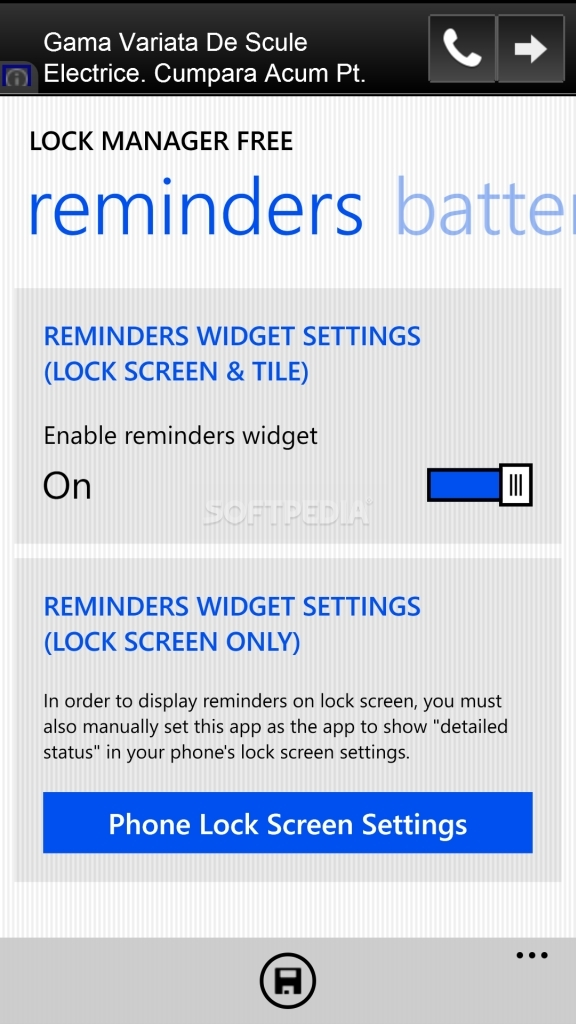 Download Lock Manager Free for Windows Phone