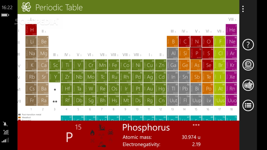 Download periodic table for windows phone 11 original screenshots periodic table urtaz Choice Image