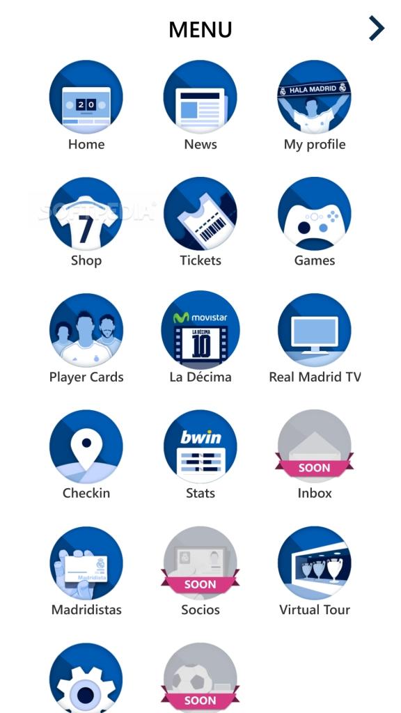 Download Realmadrid App for Windows Phone : Realmadrid App Windows Phone4 from mobile.softpedia.com size 576 x 1024 jpeg 184kB