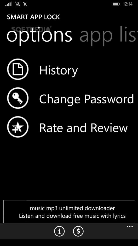 Download Smart App Lock For Windows Phone