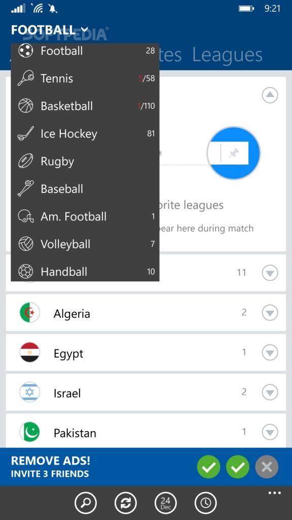 Download SofaScore LiveScore for Windows Phone