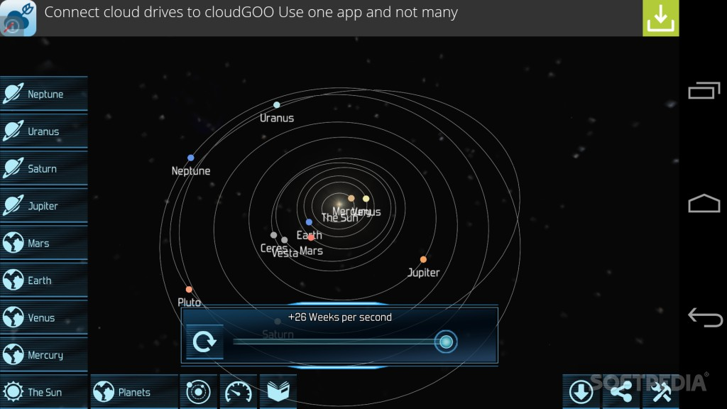 Download Solar System Explorer HD for Android