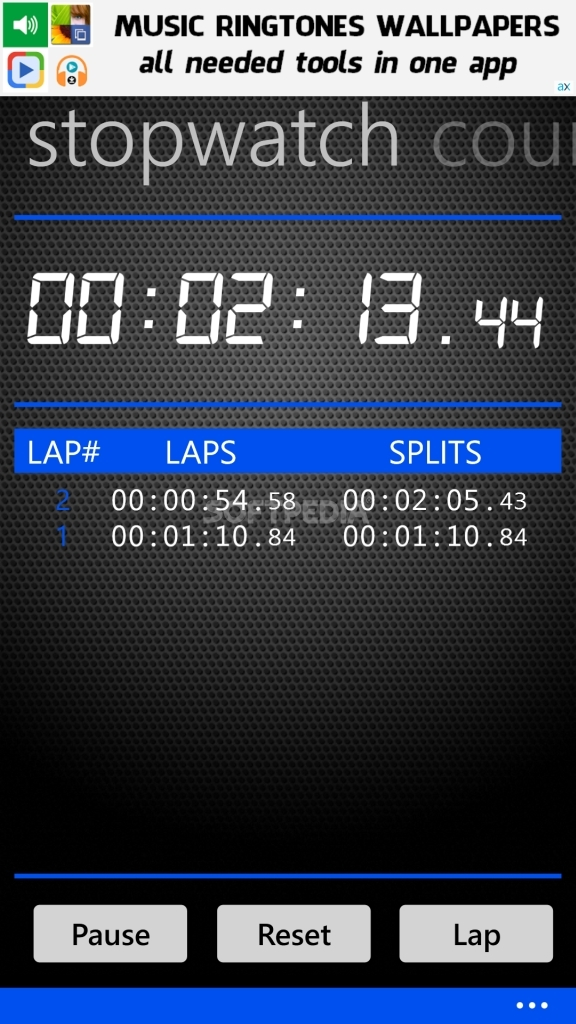 Download StopWatch for Windows Phone