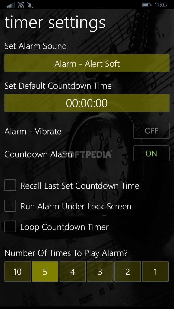 Download Stopwatch Timer for Windows Phone