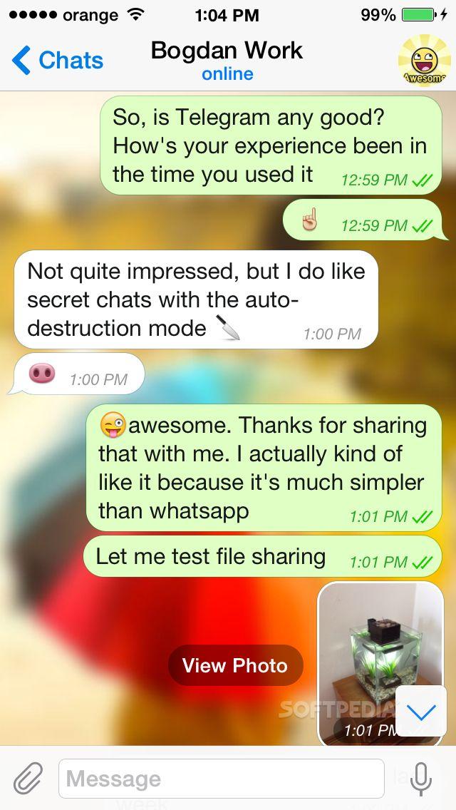 Download Telegram Messenger for iOS