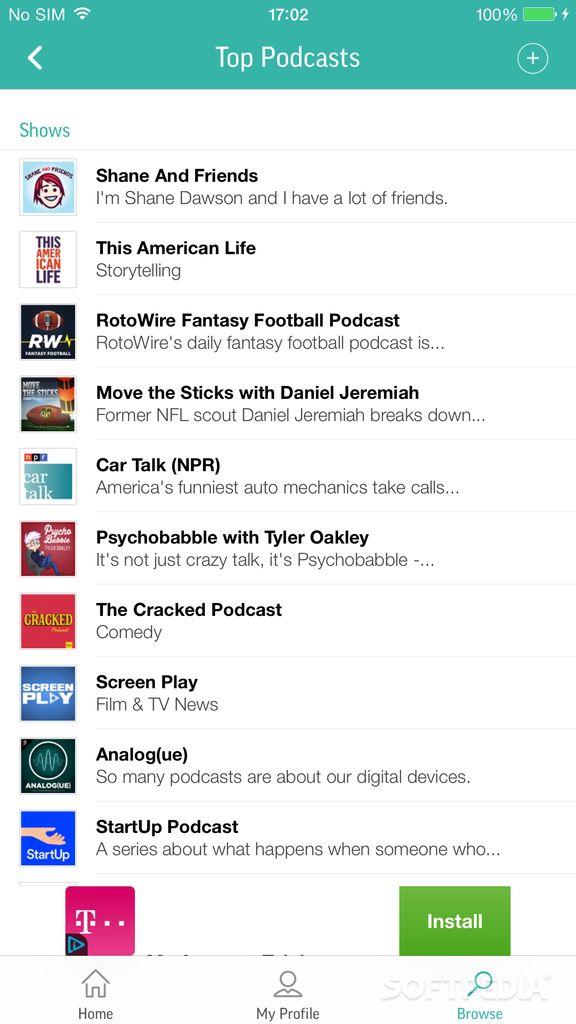 Download TuneIn Radio for iOS