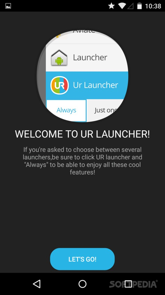 Download UR 3D Launcher for Android