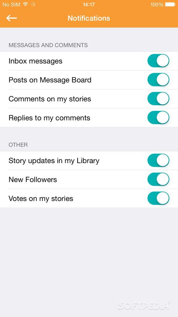 Download Wattpad for iOS