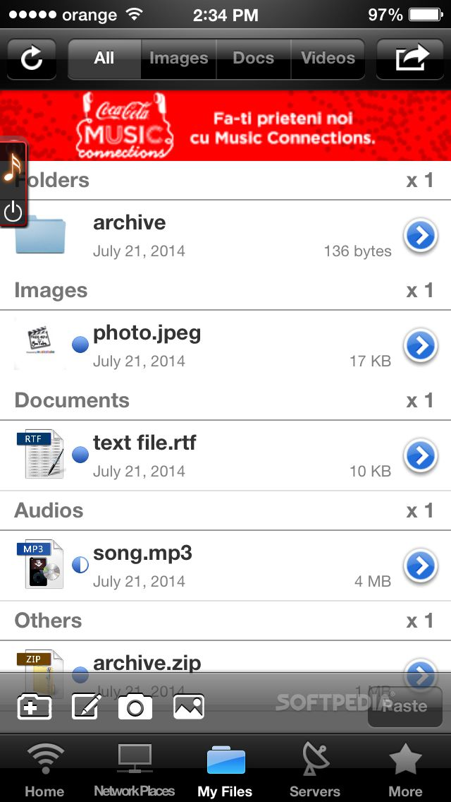 Download iFileExplorer for iOS