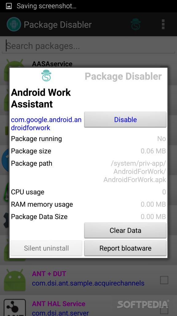 Download Package Disabler for Android