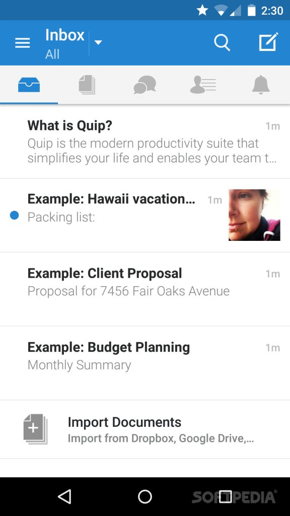 Download Quip Docs Chat Spreadsheets For Android
