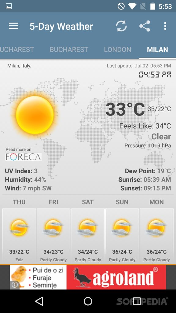 Download Weather & Clock Widget Android